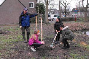 Bomen planten Nieuwegein